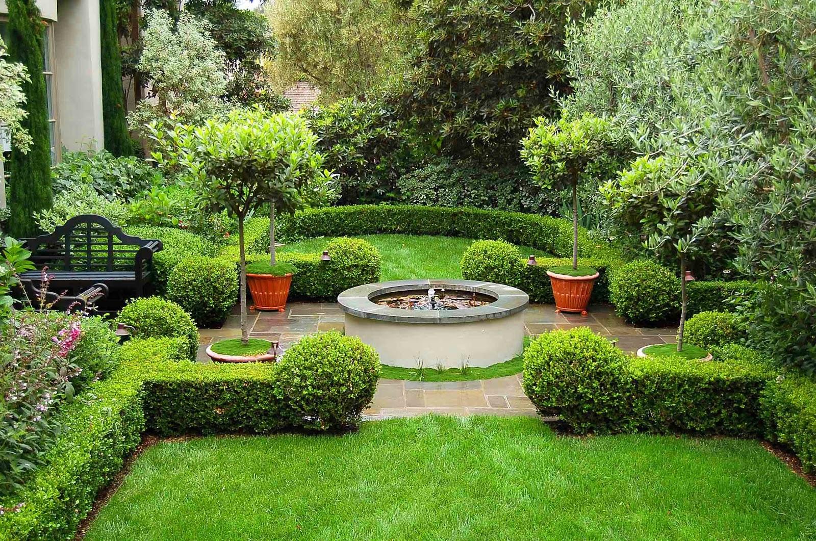 Environmental Concept- Earth-friendly Landscapes: Santa ... on Luxury Backyard Design id=12435