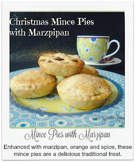 Enhanced with marzipan, orange & spice these home made mince pies are an incredibly delicious traditional treat.