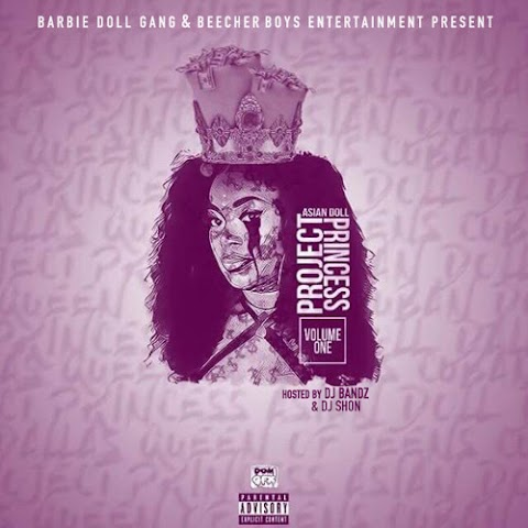 MIXTAPE REVIEW: @ASIANDADOLL - Project Princess Vol.1 (hosted by @DJ_BANDZ @DJShonChicago)
