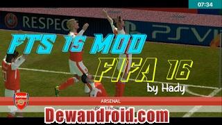FTS15 Mod FIFA 16 Apk v1 by Hadi Suhendra