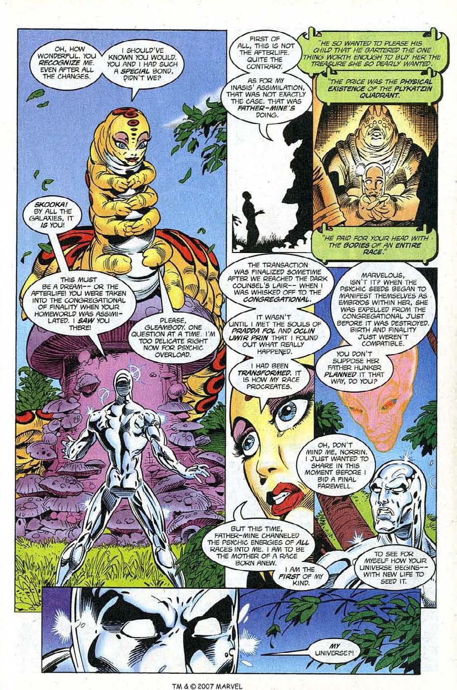 Read online Silver Surfer (1987) comic -  Issue #121 - 31