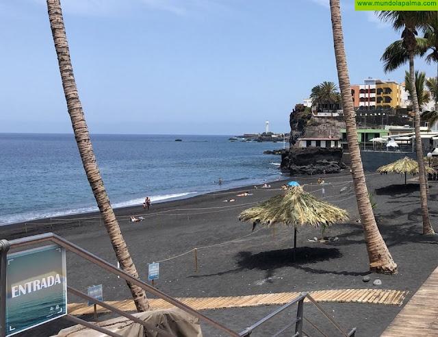 El Ayuntamiento de Los Llanos de Aridane reabre sus playas al público con todas las medidas se seguridad