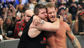 Festival of Friendship Monday Night Raw Chris Jericho Kevin Owens