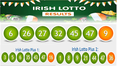 Irish Lotto Lottery Results Saturday 16 June 2018 All 3 Draws
