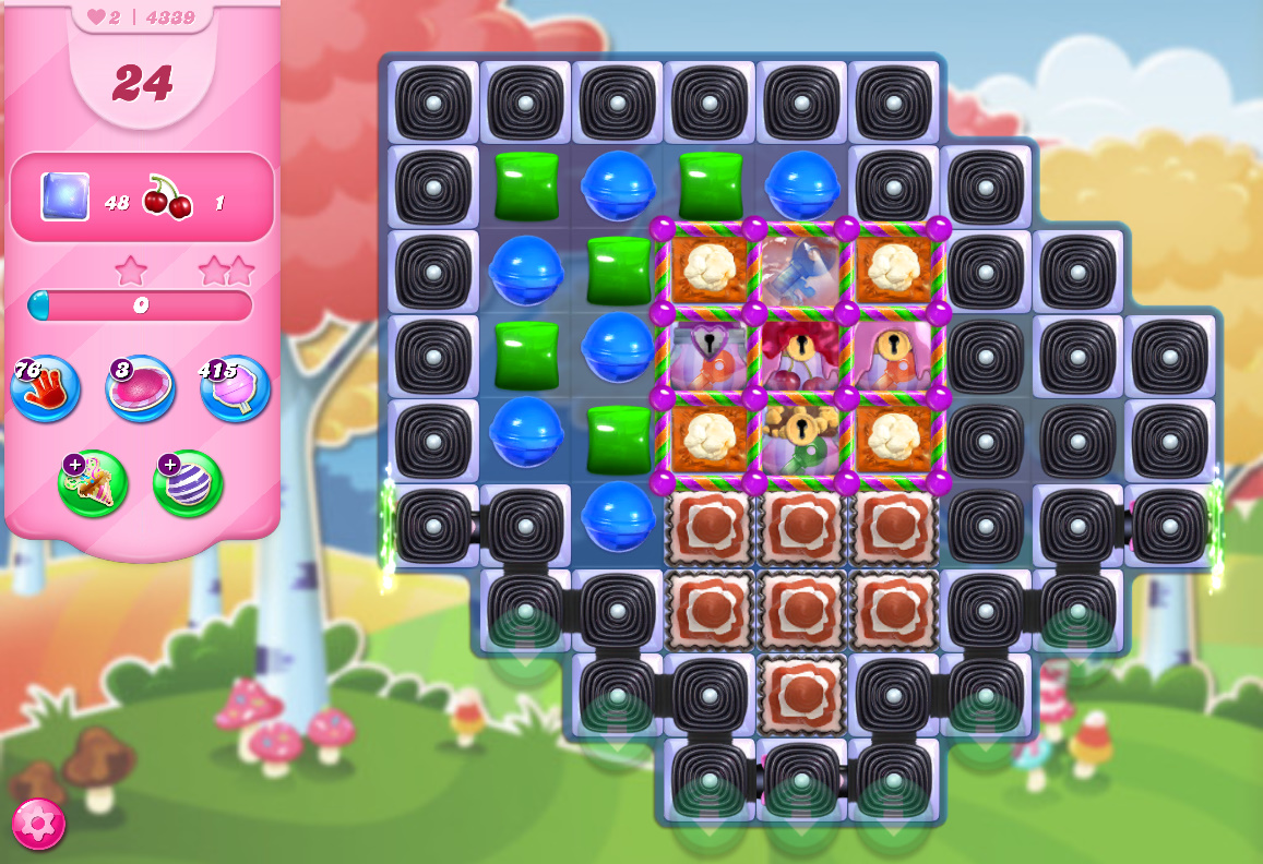 Candy Crush Saga level 4339
