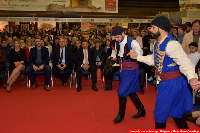 Πραγματοποιήθηκαν τα εγκαίνια της 8ης Παγκρήτιας Έκθεσης στη Θεσσαλονίκη [βίντεο - φωτογραφίες]