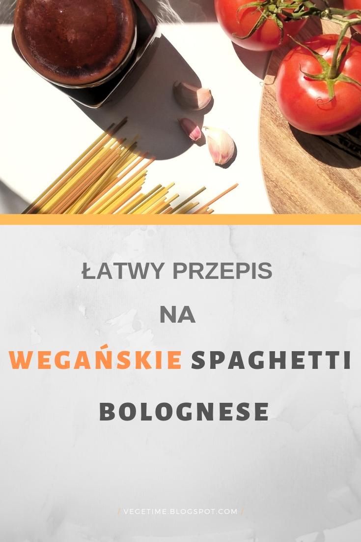 Prosty Przepis na Wegańskie Spaghetti Bolognese