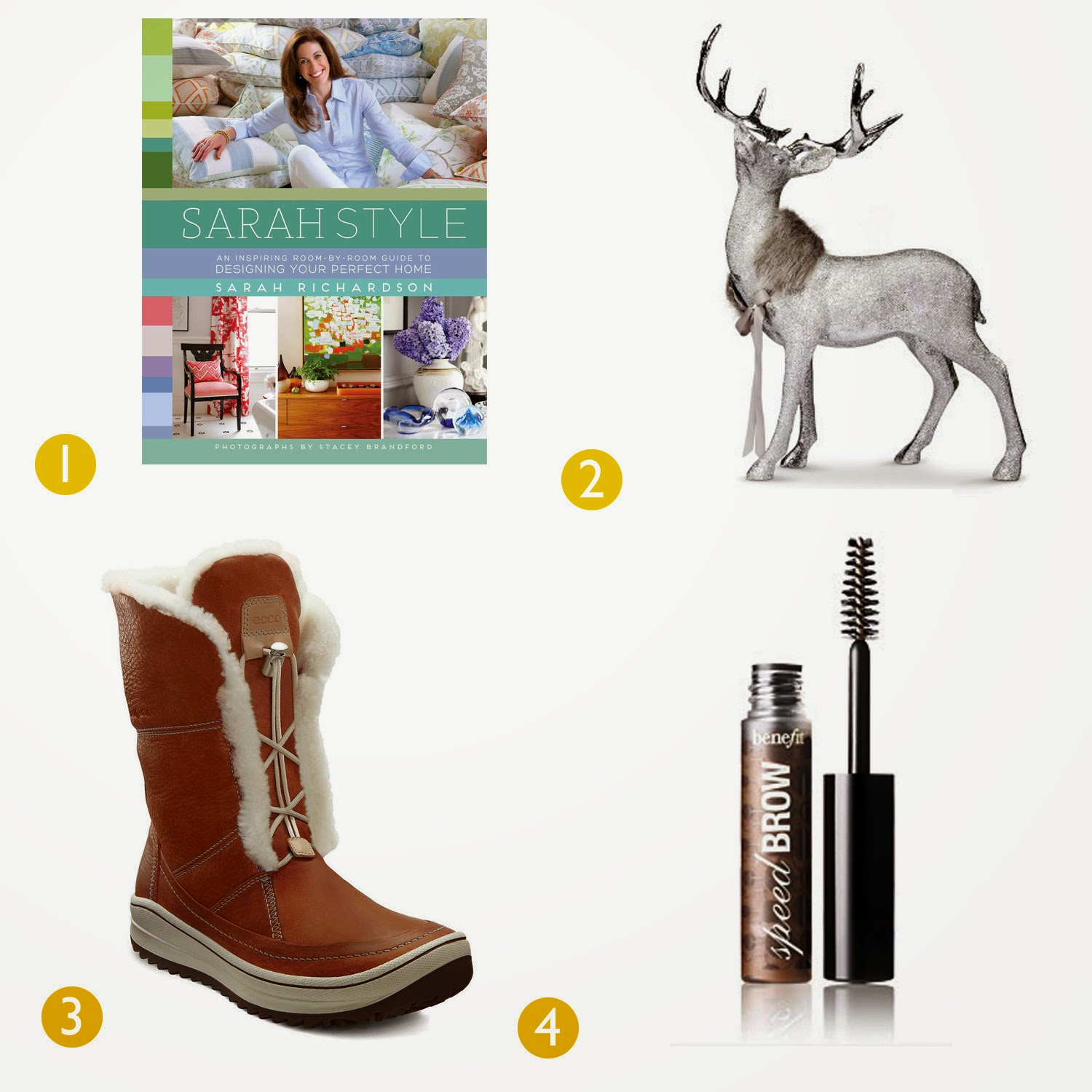 sarah style ecco boots gimme brow burlap reindeer shawl