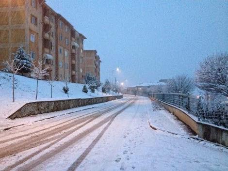 Korucuk kış fotoğrafı genel manzara