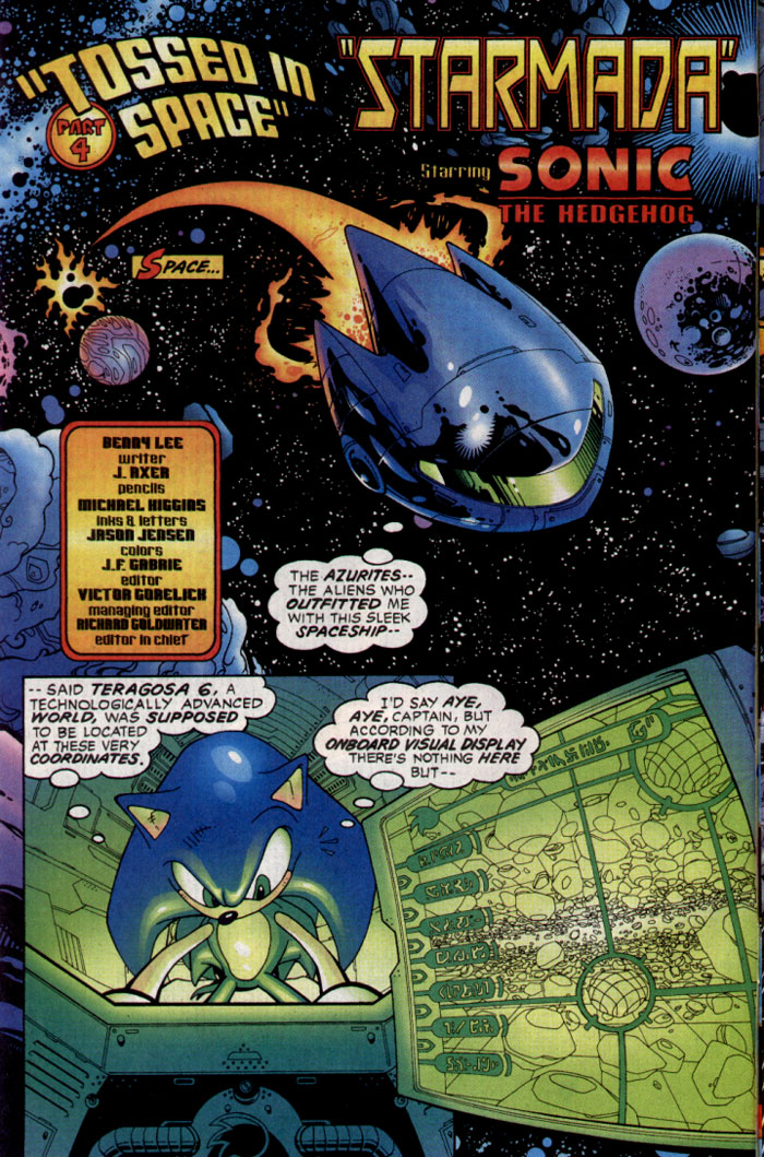 Read online Sonic The Hedgehog comic -  Issue #128 - 3