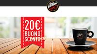 Logo Caffè Vergnano: buono sconto da 20€ senza spesa minima!
