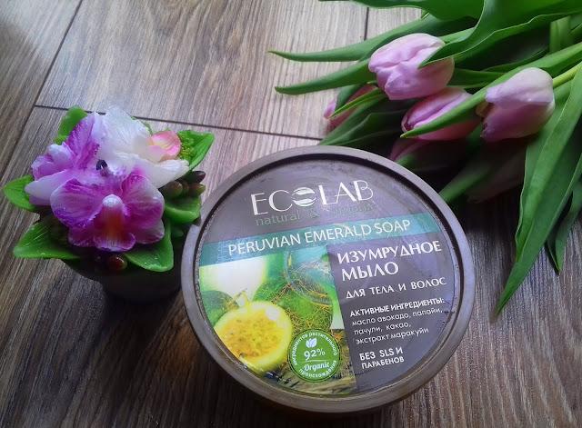 Ecolab - szmaragdowe peruwiańskie mydło do ciała i włosów
