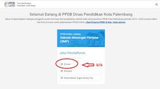 Cara Daftar Murid Baru di PPDB Online Tingkat SMP Negeri di Kota Palembang