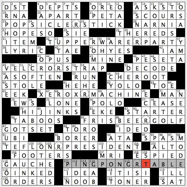 Rex parker does the nyt crossword puzzle fatty cut of for Sashimi fish crossword