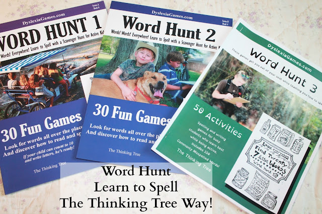 Word Hunt from Dyslexia Games