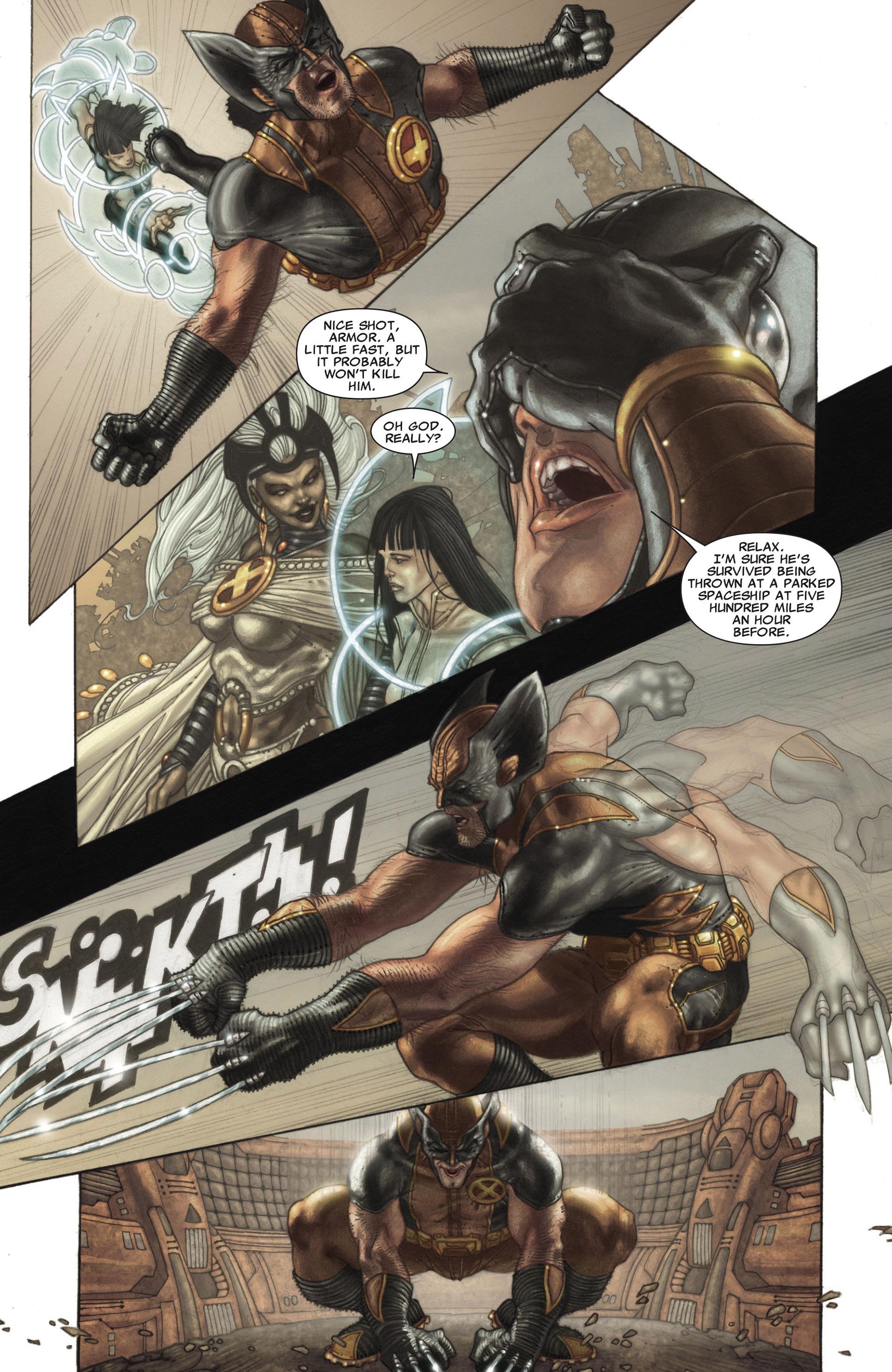 Read online Astonishing X-Men (2004) comic -  Issue #26 - 9