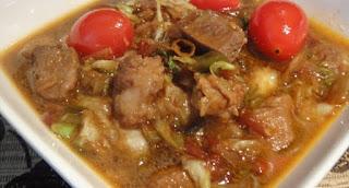 Cara memasak semur daging kambing