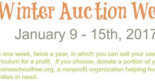 It's Here! WINTER AUCTION WEEK 2017