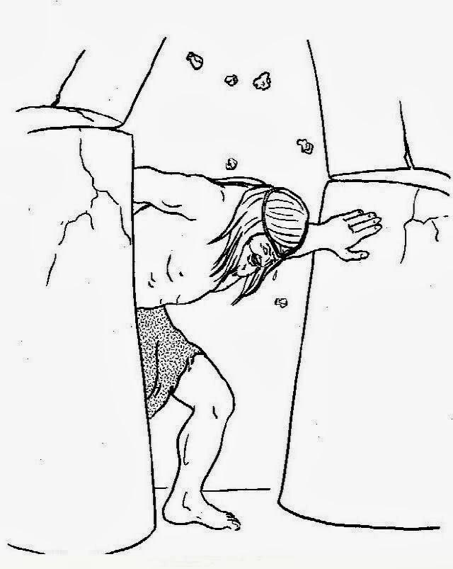 Dibujos Atado Sanson Biblia | www.imagenesmy.com