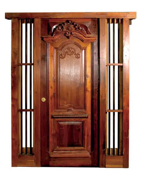 Apuntes revista digital de arquitectura puertas diversos modelos y opciones catalogo - Puertas principales de madera ...
