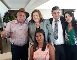 Lideranças politicas de Santa Filomena prestigiam a posse da deputada estadual Cleide Coutinho