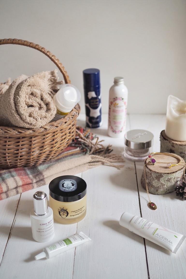 Revue de produits de soins pour l'automne