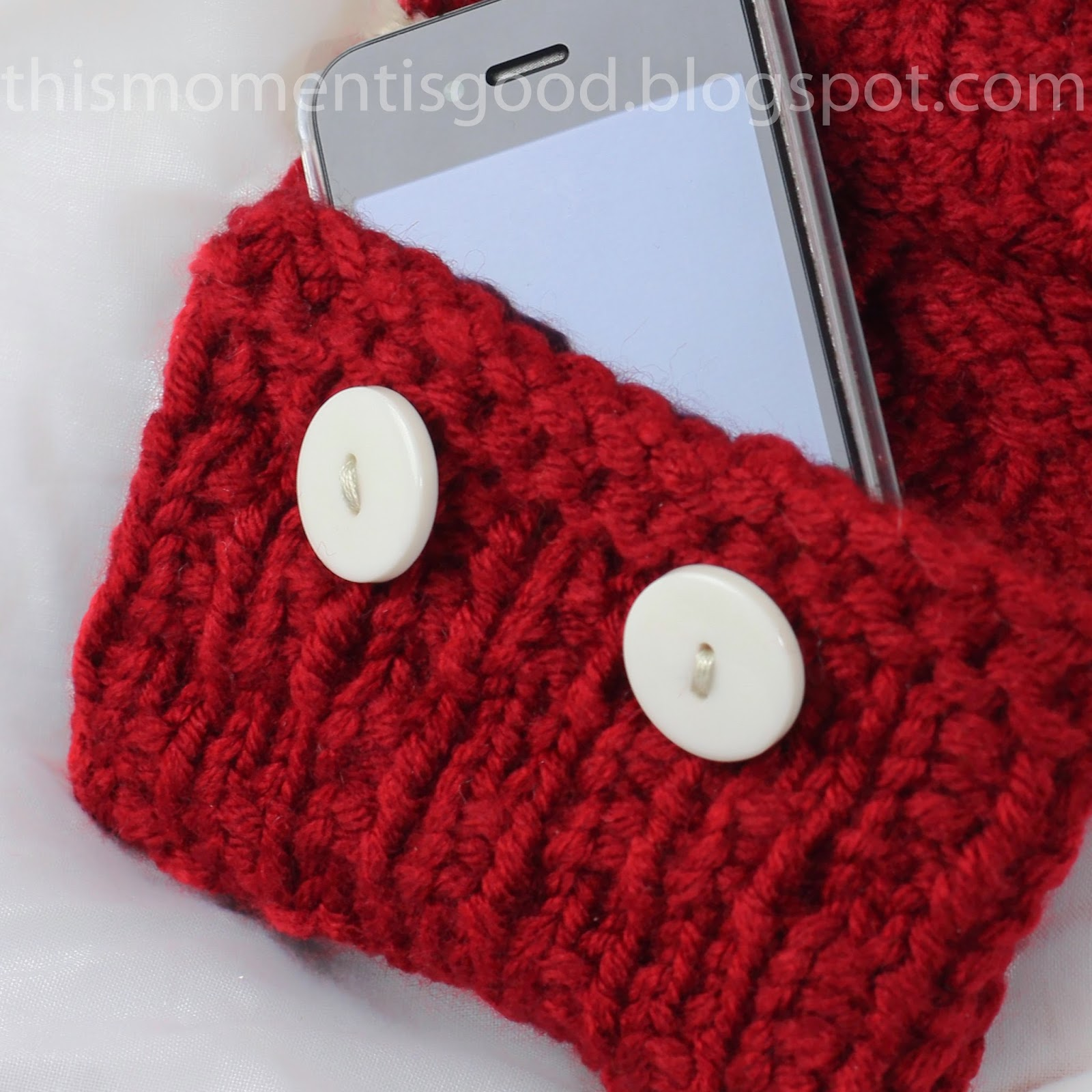 FREE LOOM KNIT IPHONE SLEEVE PATTERN... | Loom Knitting by This ...