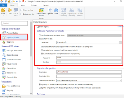 Exploring Advanced Installer Express free edition to convert legacy
