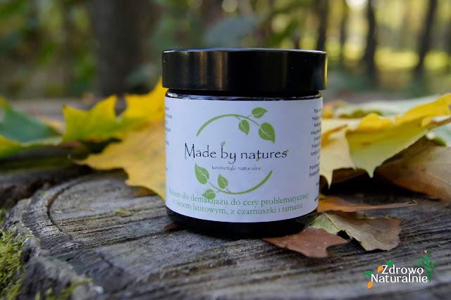 Made by Natures - Balsam do demakijażu - cera problematyczna