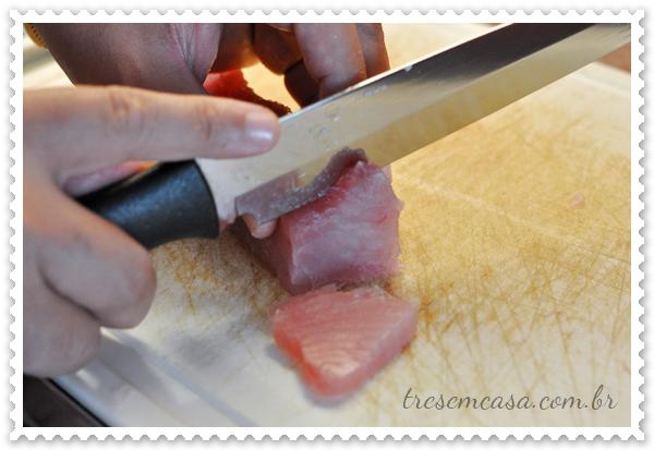 sashimi atum foto