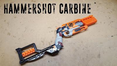 Súng đồ chơi Nerf Hammershot độ chế súng săn