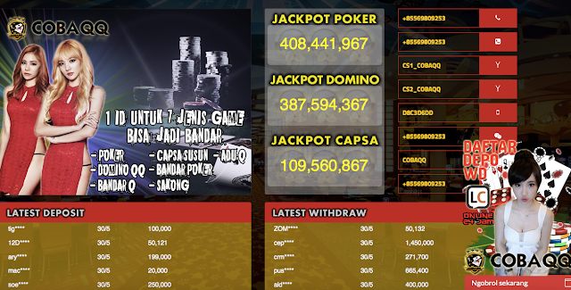 Bandarq Dominoqq Poker Online