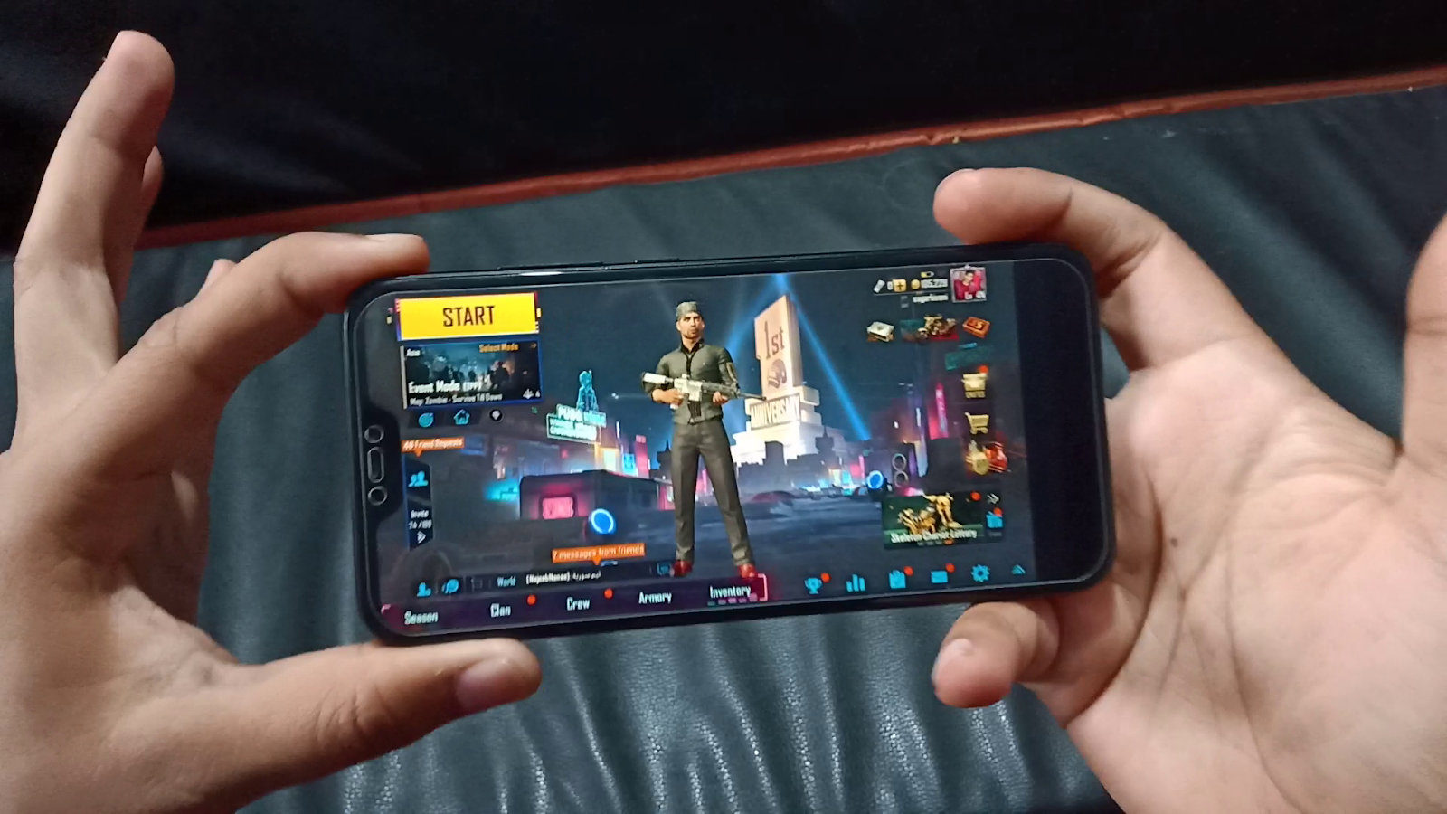 How to live stream PUBG Mobile with facecam on YouTube with