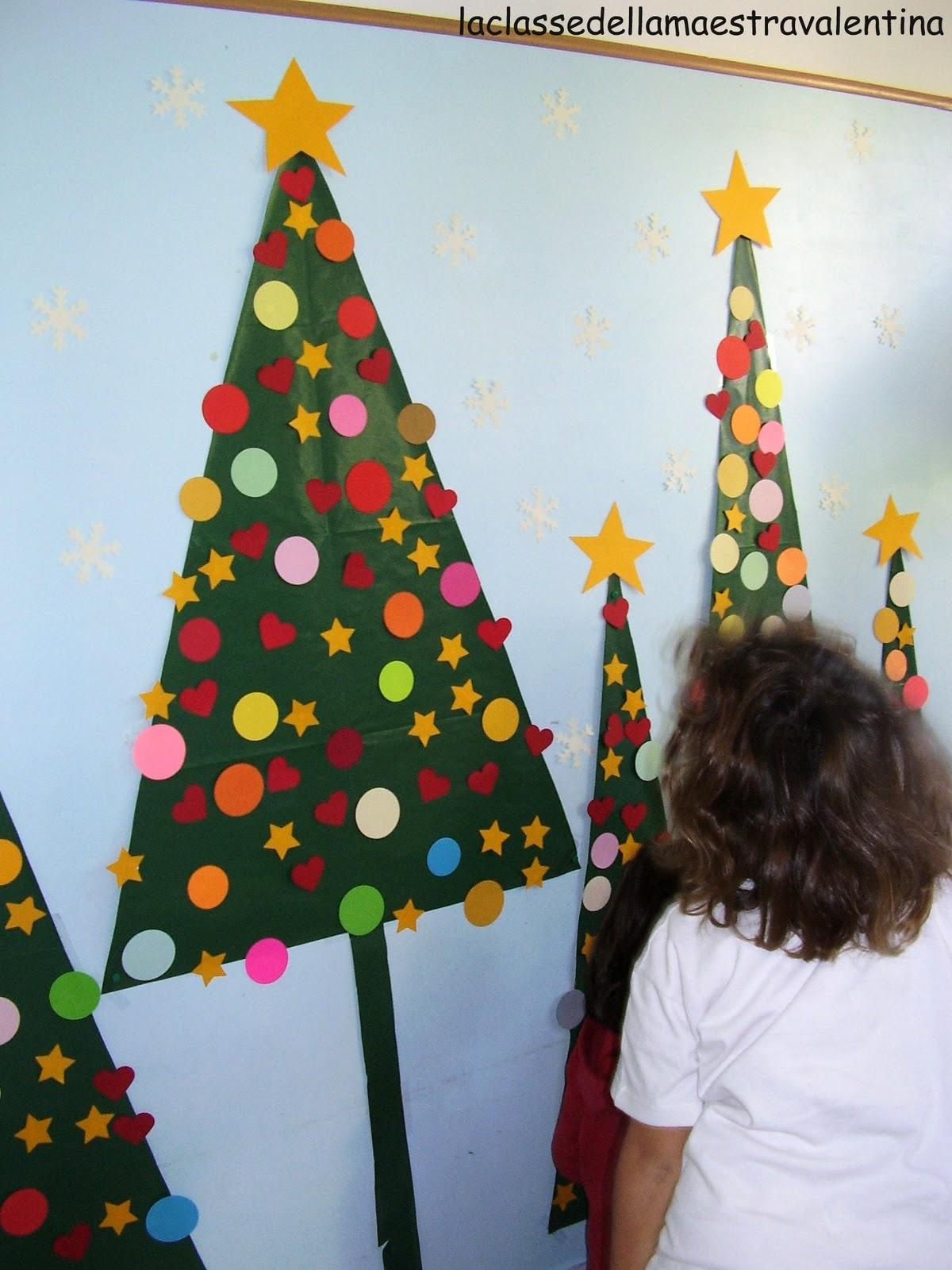 la classe della maestra valentina natale con i bambini ForAbbellire La Classe Per Natale