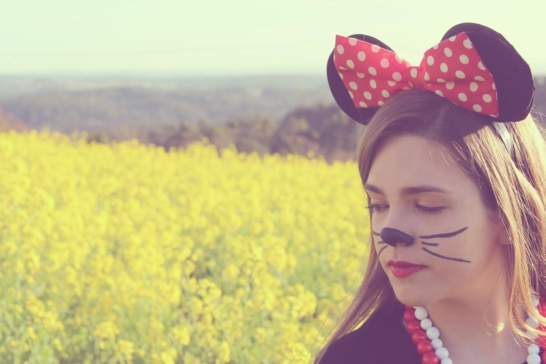 Disfraz handmade de Minnie Mouse