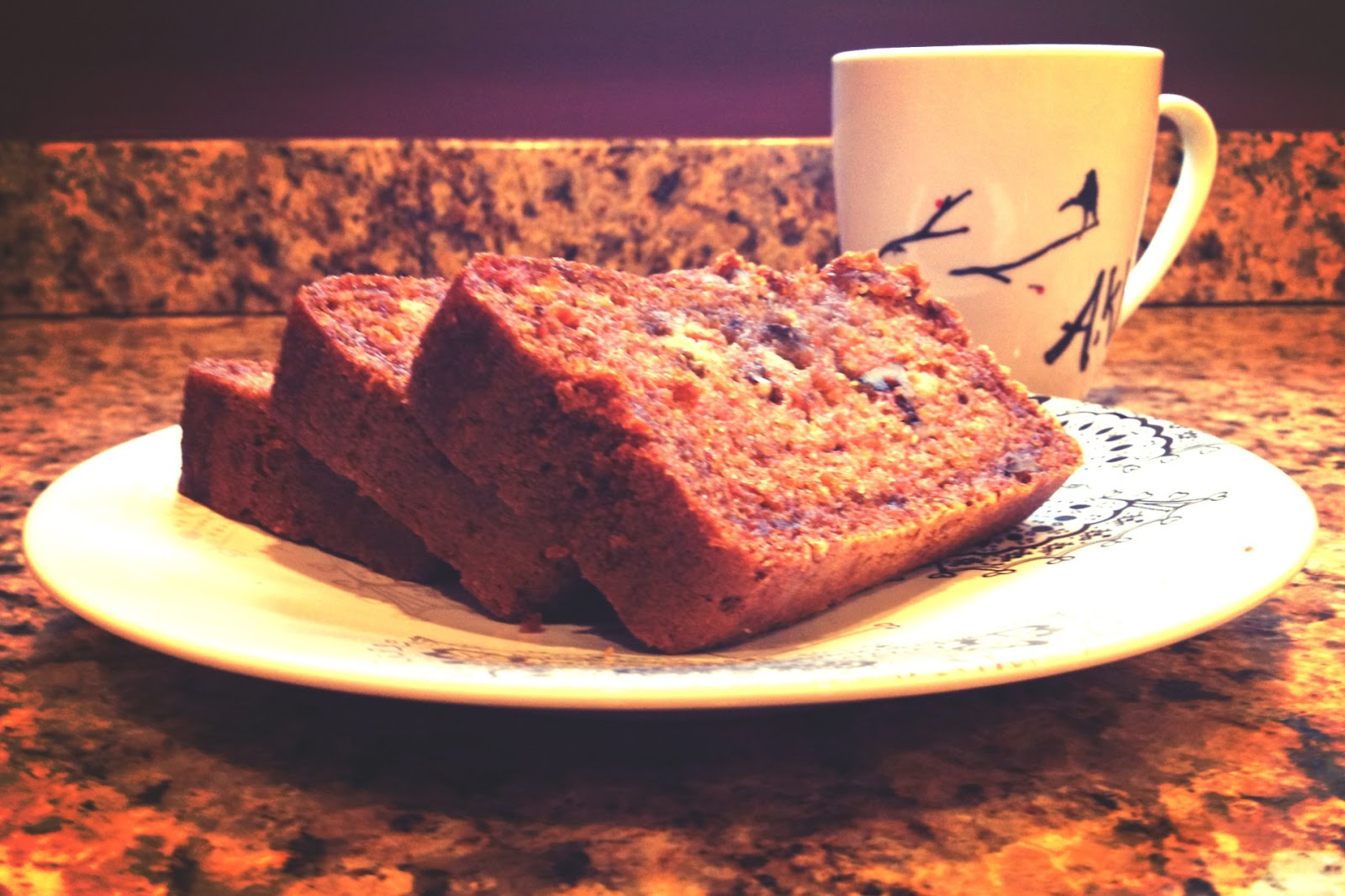 Carrot Cake Bread Eggless And Low Fat Eatomaniac