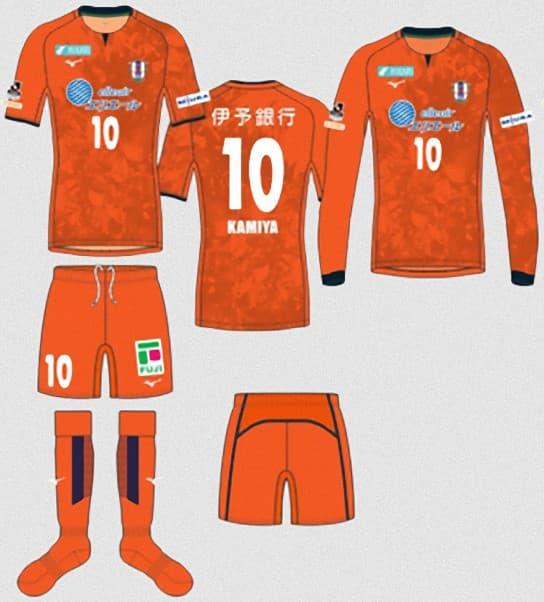 愛媛FC 2018 ユニフォーム-ホーム