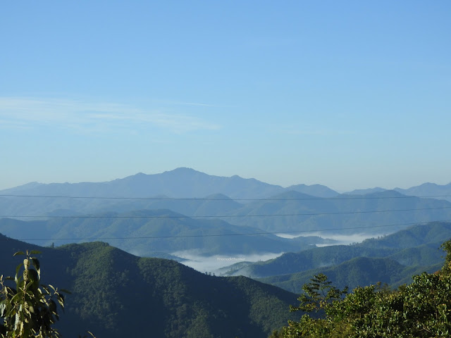 Imphal, Moreh, Manipur, India, mountains, clouds, hills