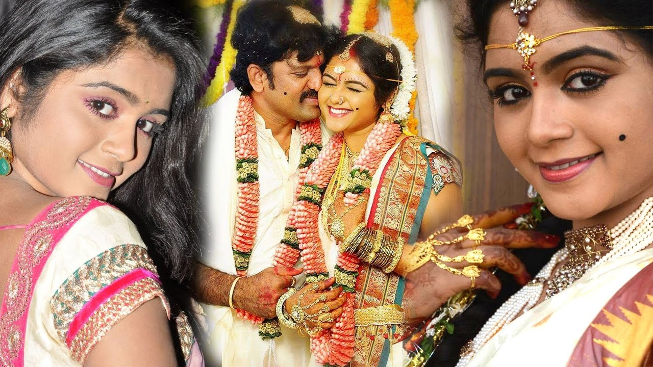 Telugu Actress Shirisha Enters Wedlock with Fellow Actor | Indian