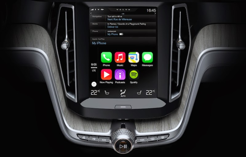 Apple brings CarPlay into your car. iPhone users will use Siri to control their in car systems