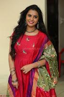 Manasa in Pink Salwar At Fashion Designer Son of Ladies Tailor Press Meet Pics ~  Exclusive 16.JPG