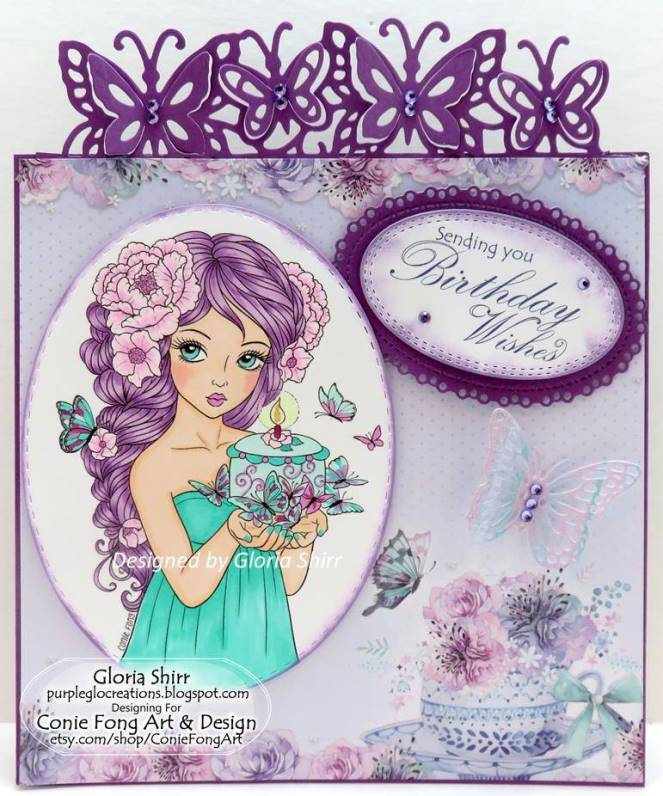 Featured Card in Crafty Gals Corner Challenge