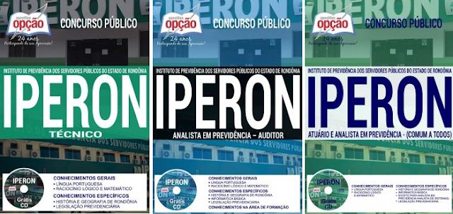 Apostila IPERON grátis TESTES para Técnico (Comum a Todos)