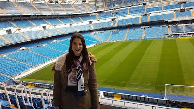 Selfie Santiago Bernabéu