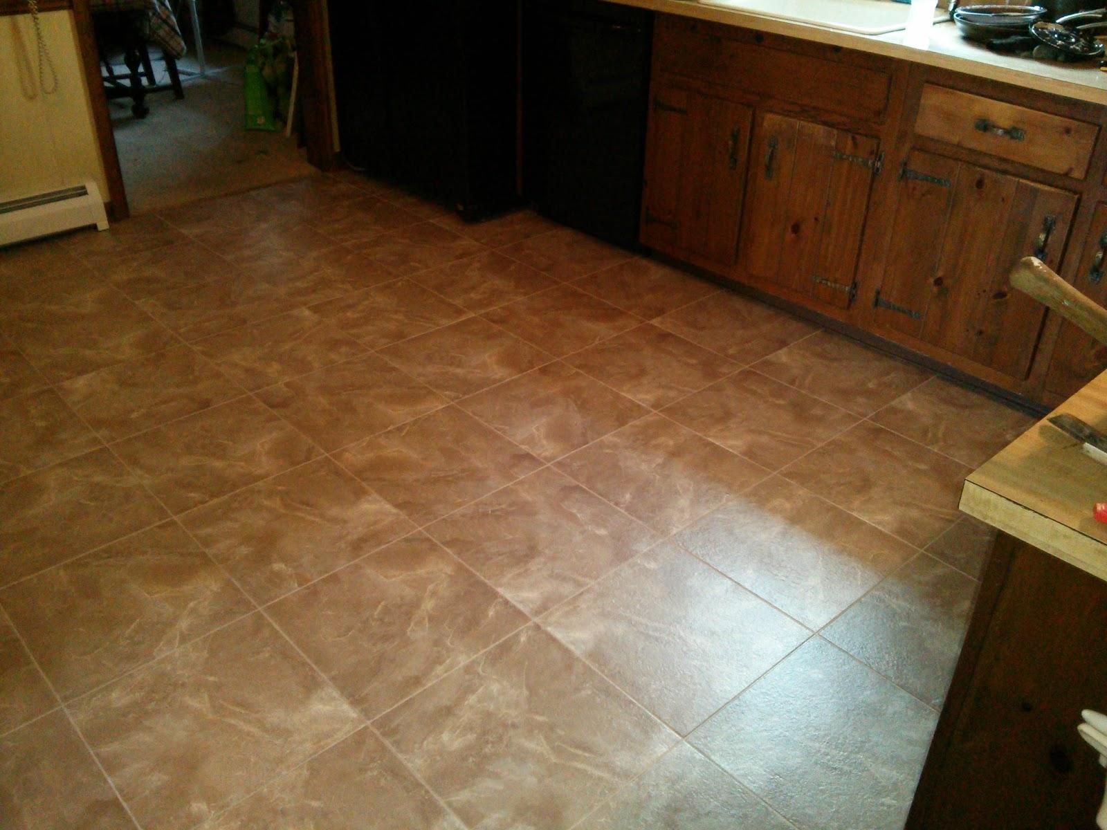 Floor Installation Photos Congoleum Duraceramic Install
