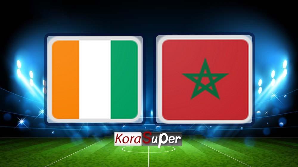 مشاهدة المغرب وساحل العاج 28-06-2019
