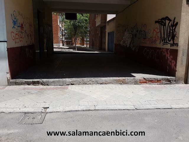 Salamanca, barreras arquitectónicas, Garrido