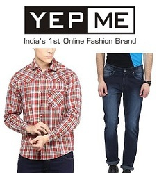 Yepme Men's Clothing – Flat 70% Off @ Amazon