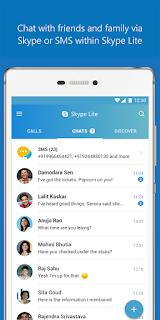 Skype Lite Chat Video Call Terbaru