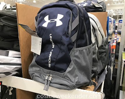 Easily lug your belongings around with the Under Armour Hustle 3.0 Backpack